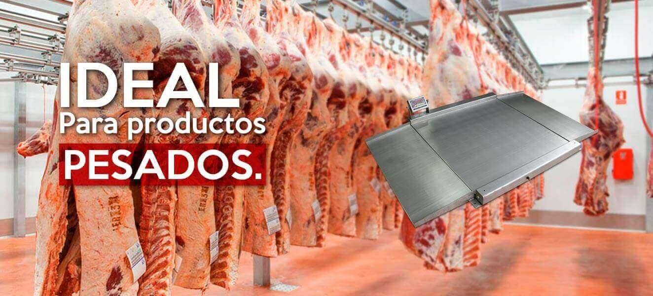 Bascula industrial JCM ideal para productos pesados